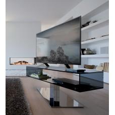 TV Furniture Daniel Chromed steel 130x45x50