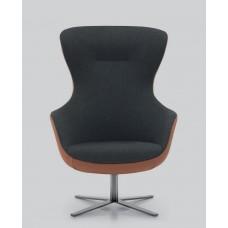Armchair Madame Lounge Swivel base R13 78x76x113