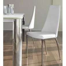 Chair Dalila chromed legs 47x52x100