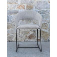 Chair Karina chromed legs 56x60x78