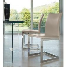 Chair chromed legs Sonia 46x47x90