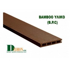 WPC Deck Bamboo Brown Dark