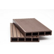 WPC Deck enclosure 110 Φ 11 PL. COMP D.BROWN YIXING