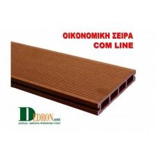 WPC Deck Com Line Brown Open