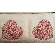 Set of towels Ecru 3pcs. Embroidery 99-001-002