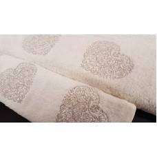 Σετ πετσέτες 3τμχ. Εκρού Κέντημα 99-001-008
