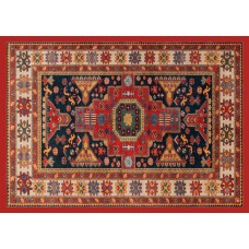 Carpet Shirvan Arancio