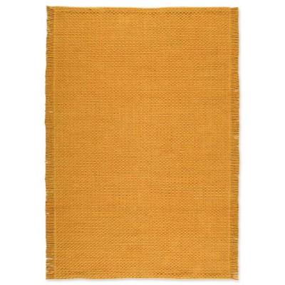 Combo Hand Woven Rug Yellow