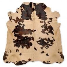 Cow Skin Dyed Beige spots