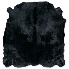 Cow Skin Dyed Black