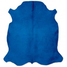 Cow Skin Dyed Blue