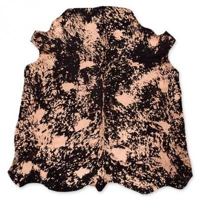 Cow Skin Metallic Brown Acid Bronze