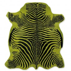 Cow Skin (printed) Zebra Green