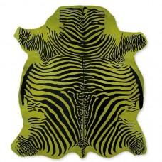 Cow Skin (printed) Zebra Green