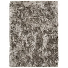 Grass Polyester Grey Handmade Carpet