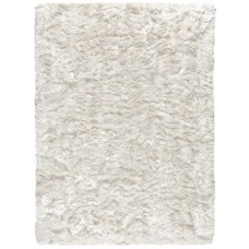 Grass Polyester White Handmade Carpet