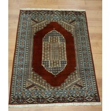 Handmade Carpet Bokhara Silk 1070 137x193