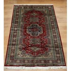 Handmade Carpet Bokhara Silk 1072 155x241